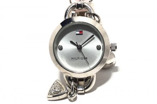トミーヒルフィガー 腕時計 T00208 レディース 革ベルト/ハート/ラインストーン