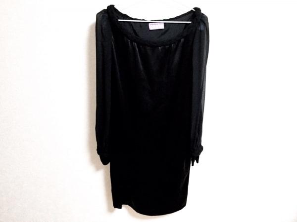 ヴィヴィアンタム ワンピース サイズ1 S レディース美品  黒 DRESS/シルク