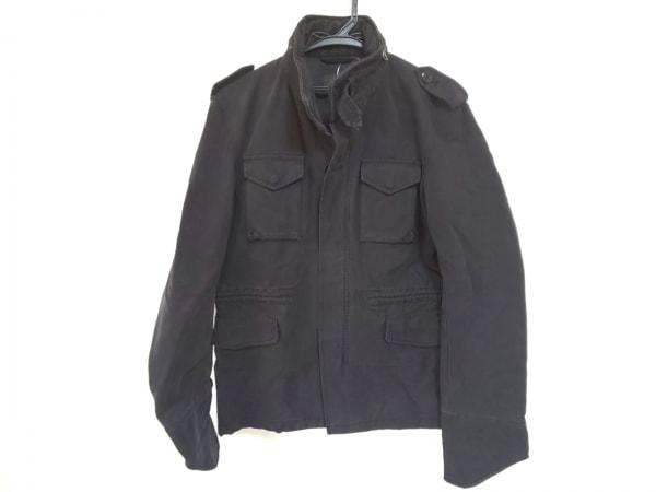 Edition(エディション) コート サイズ48 XL メンズ 黒 ジップアップ/春・秋物