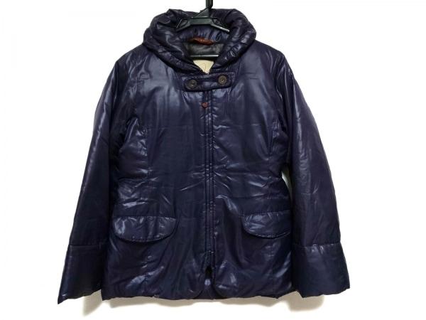 パラスパレス ダウンジャケット サイズ2 M レディース パープル ジップアップ/冬物