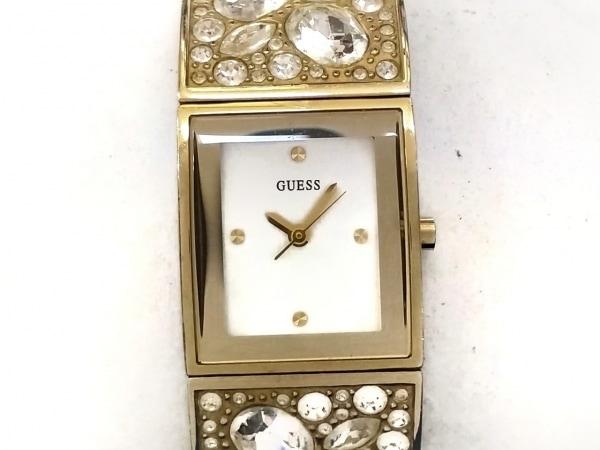 GUESS(ゲス) 腕時計 W0002L2 レディース ビジュー/ラインストーン シルバー