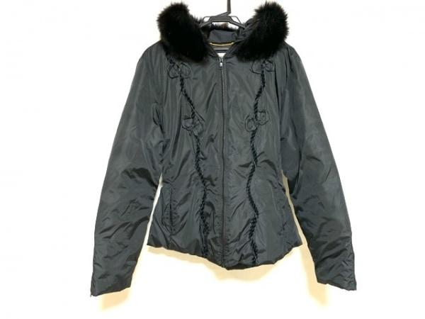 ブルマリン・アンナモリナーリ コート サイズI 42 レディース美品  黒