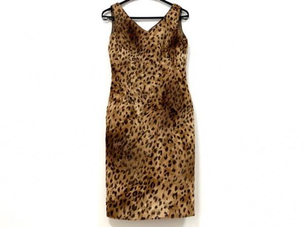 ビアッジョブルー ワンピース サイズ2 M レディース美品  豹柄/フェイクファー