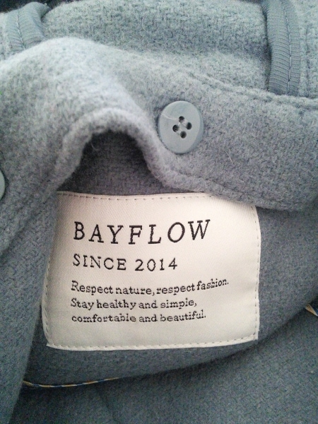 BAYFLOW(ベイフロー) コート サイズ2 M レディース ライトグレー 冬物