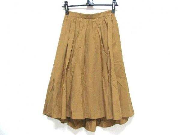 ESTNATION(エストネーション) ロングスカート サイズ36 S レディース ブラウン