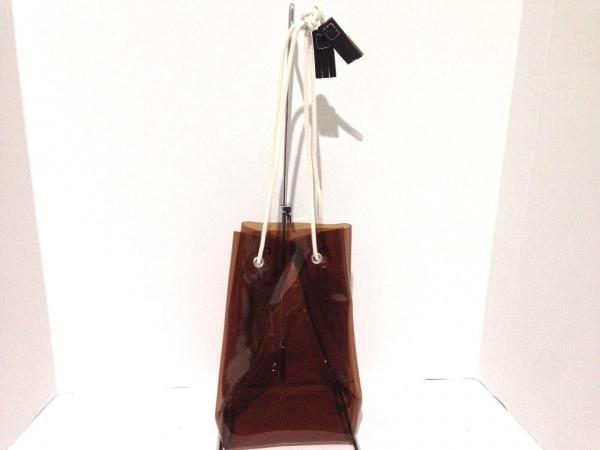 TEMBEA(テンベア) トートバッグ ブラウン PVC(塩化ビニール)