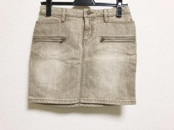 ピンキー&ダイアン ミニスカート サイズ36 S レディース美品  ライトブラウン デニム