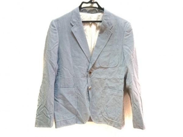 PaulSmith(ポールスミス) ジャケット メンズ ブルー×白 チェック柄