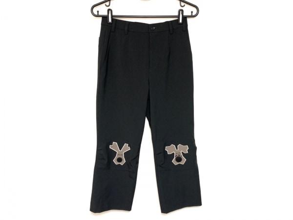 ミエコウエサコ パンツ サイズ38 M レディース 黒×ブラウン SPORTS/イヌ