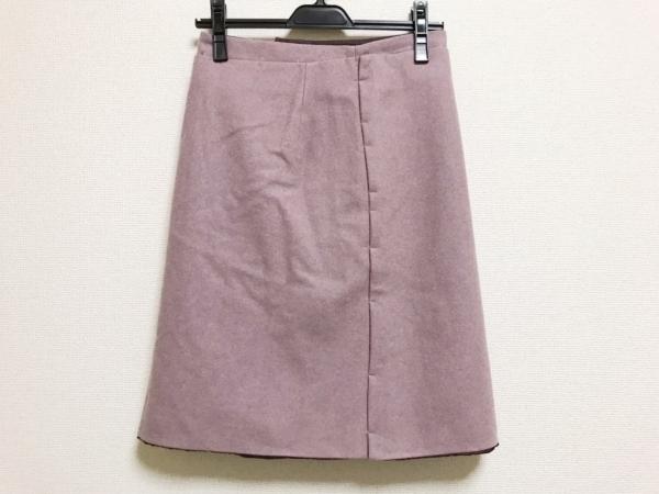 JILSANDER(ジルサンダー) スカート サイズ34 XS レディース美品  ボルドー