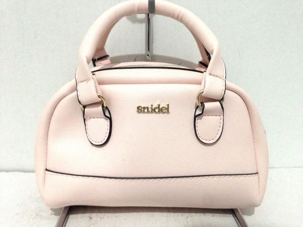 snidel(スナイデル) ハンドバッグ ピンク ミニサイズ 合皮