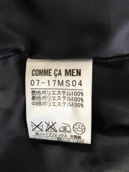 COMME CA MEN(コムサメン) トレンチコート サイズL メンズ 黒 春・秋物