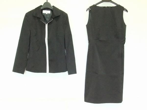 INED(イネド) ワンピーススーツ サイズ2 M レディース 黒×白