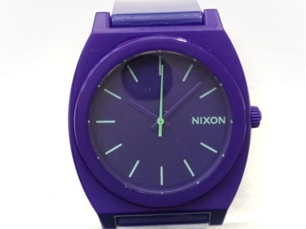 NIXON(ニクソン) 腕時計美品  13F1 レディース パープル