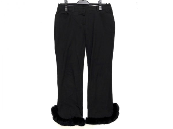 TO BE CHIC(トゥービーシック) パンツ サイズ40 M レディース 黒