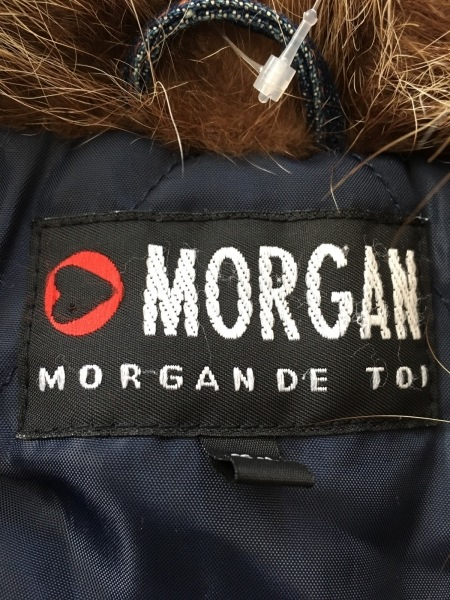 MORGAN(モルガン) コート レディース美品  ネイビー デニム/MORGAN DE TOI/冬物