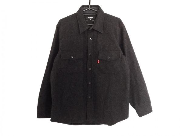 ensuite(エンスウィート) コート サイズ48 XL メンズ美品  ダークグレー 冬物