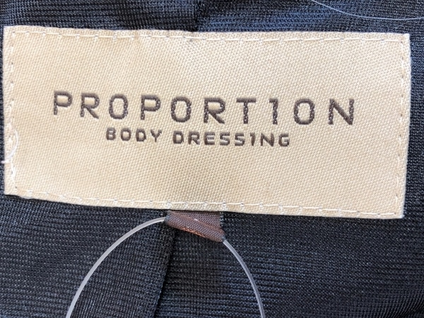 プロポーションボディドレッシング スカートスーツ サイズ2 M レディース 黒