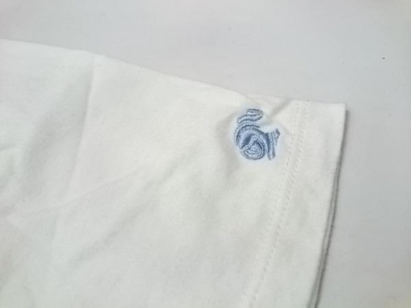 ラブレス 半袖Tシャツ サイズ1 S メンズ美品  白×ブルー×ネイビー Vネック