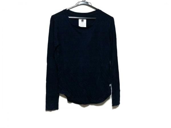 G-STAR RAW(ジースターロゥ) 長袖Tシャツ サイズXXS XS メンズ美品  ネイビー