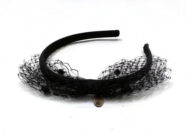R.E.D VALENTINO(バレンチノ) カチューシャ 化学繊維 黒