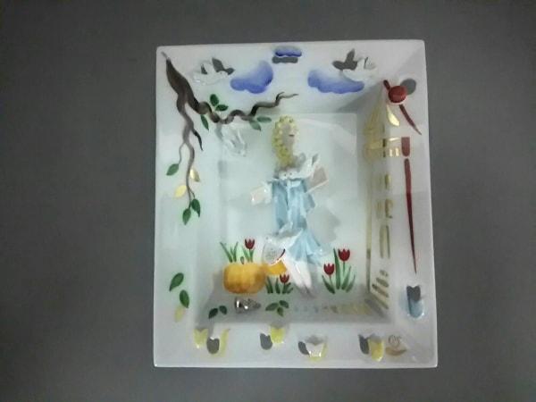 Meissen(マイセン) 小物美品  白×マルチ 陶器
