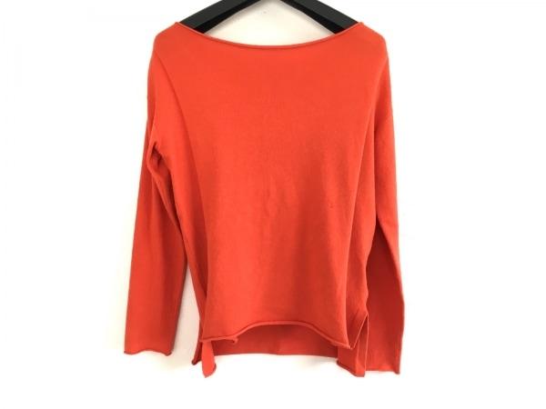 フォクシーニューヨーク 長袖セーター レディース ガレットセーター 33106 オレンジ