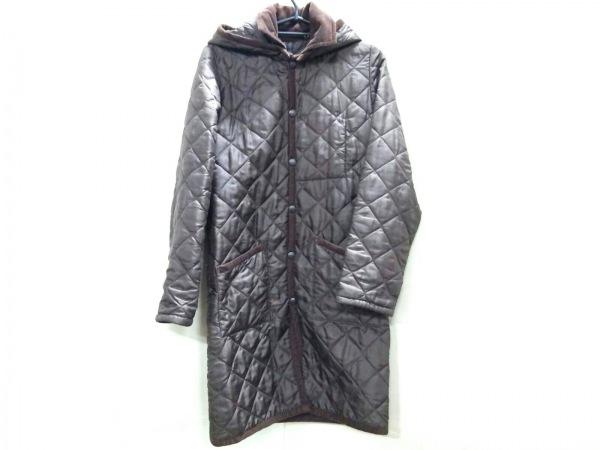 ラベンハム コート サイズUSA36 レディース ダークブラウン キルティング/冬物