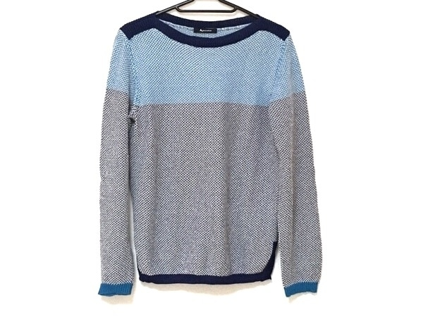 Aquascutum(アクアスキュータム) 長袖セーター サイズ8 M レディース美品