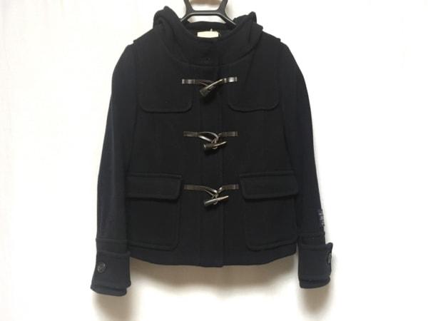 CROLLA(クローラ) ダッフルコート サイズ36 S レディース 黒 ショート丈/冬物
