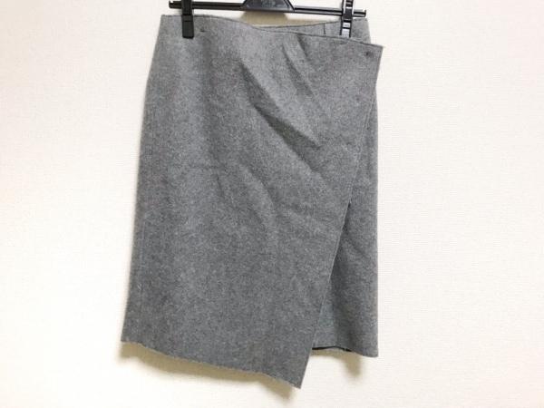 EPOCA(エポカ) 巻きスカート サイズ38 M レディース美品  グレー BIANCA