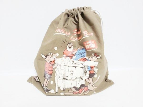 CAPTAIN SANTA(キャプテンサンタ) バッグ ベージュ×マルチ キャンバス