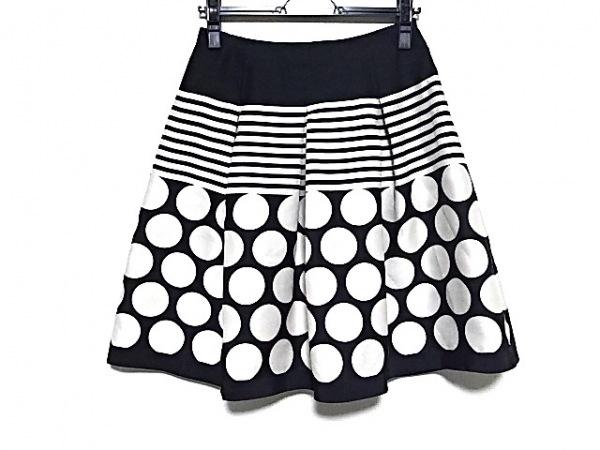 M'S GRACY(エムズグレイシー) スカート サイズ38 M レディース美品  アイボリー×黒