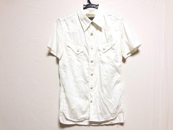 REMI RELIEF(レミ レリーフ) 半袖シャツ サイズS メンズ 白
