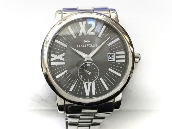 FolliFollie(フォリフォリ) 腕時計 WT6T009BD メンズ シルバー