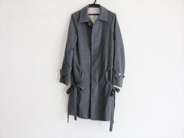 mint designs(ミントデザインズ) コート サイズM レディース グレー リボン/春・秋物