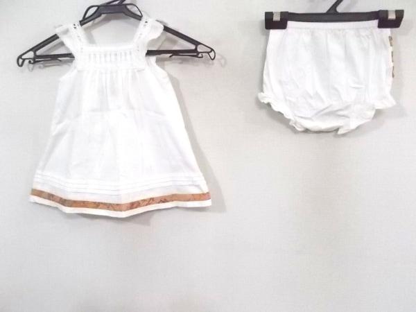 プリマクラッセ レディースパンツセットアップ レディース美品  白×ブラウン