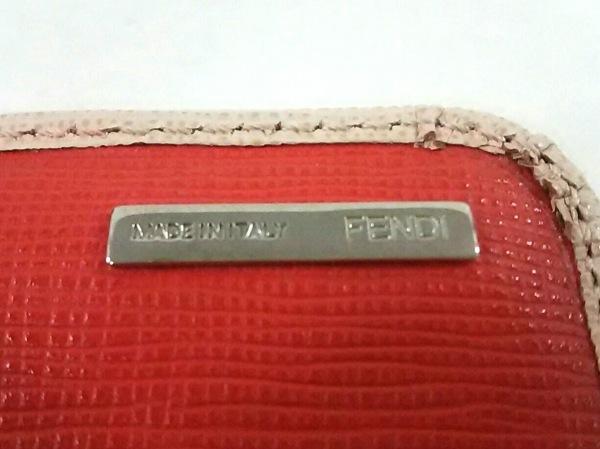 FENDI(フェンディ) 長財布 モンスター 8M0251 ベージュ×黒×白 レザー