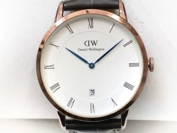 Daniel Wellington(ダニエルウェリントン) 腕時計 ダッパー B38R1 メンズ 白