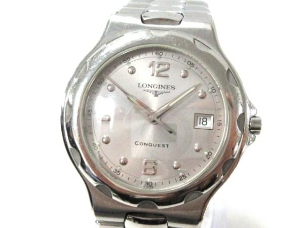 LONGINES(ロンジン) 腕時計美品  コンクエスト L1.631.4 メンズ シルバー