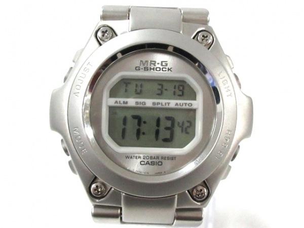 CASIO(カシオ) 腕時計美品  G-SHOCK/MR-G MRG-100 メンズ シルバー