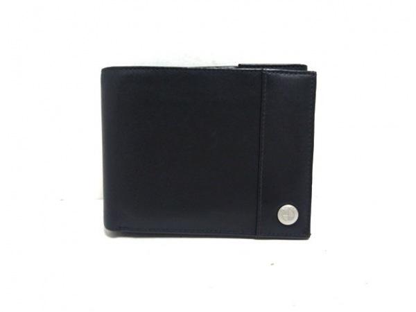 BMW(ビーエムダブリュ) 3つ折り財布 黒 レザー