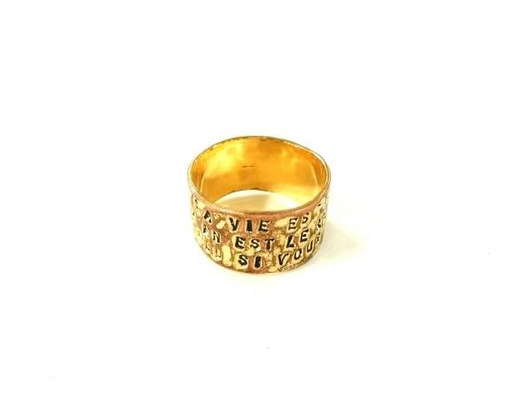 SERGE THORAVAL(セルジュ トラヴァル) リング 金属素材 ゴールド