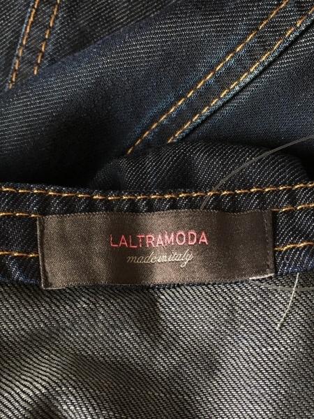 LALTRAMODA(ラルトラモーダ) ワンピース サイズ40 M レディース美品  ネイビー