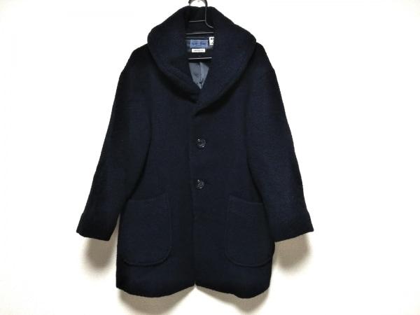 BLUEBLUE(ブルーブルー) コート メンズ新品同様  ネイビー 冬物