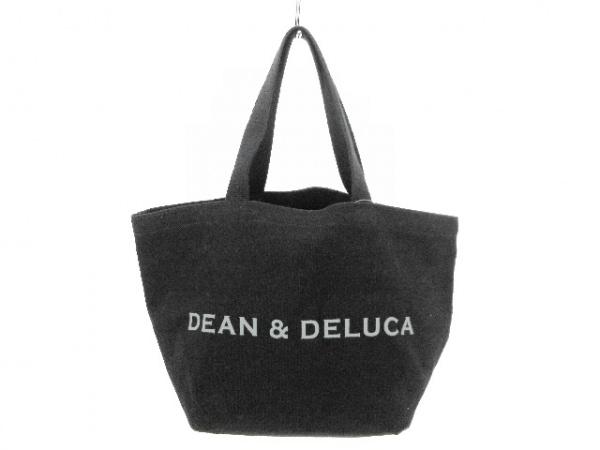 DEAN&DELUCA(ディーンアンドデルーカ) トートバッグ 黒 キャンバス