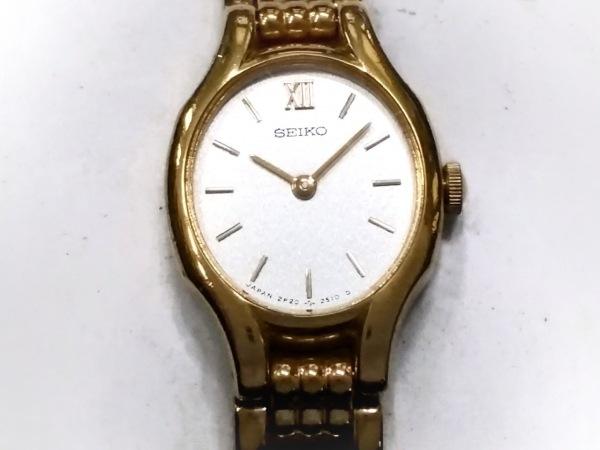 SEIKO(セイコー) 腕時計 2P20-6230 レディース 白