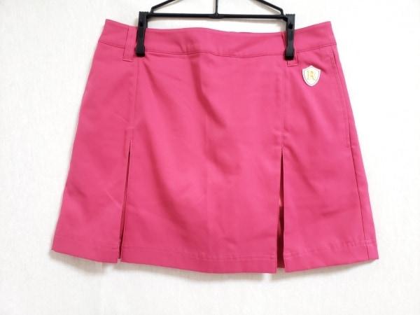 RUSSELUNO(ラッセルノ) ミニスカート サイズ1 S レディース新品同様  ピンク プリーツ