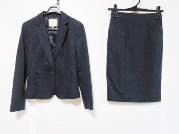 LEJOUR(ルジュール) スカートスーツ サイズ38 M レディース ダークネイビー