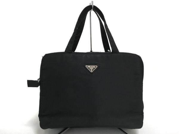 PRADA(プラダ) バッグ - B6584 黒 コスメバッグ ナイロン